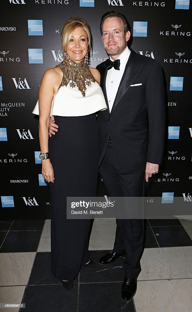 Alexander McQueen: Savage Beauty Fashion Gala At The V&A, Presented By American Express And Kering - Arrivals : Nachrichtenfoto