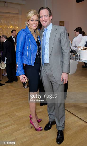 Nadja Swarovski and Rupert Adams attend annual party to raise funds for Whitechapel Art Gallery's exhibition and education programme at Whitechapel...