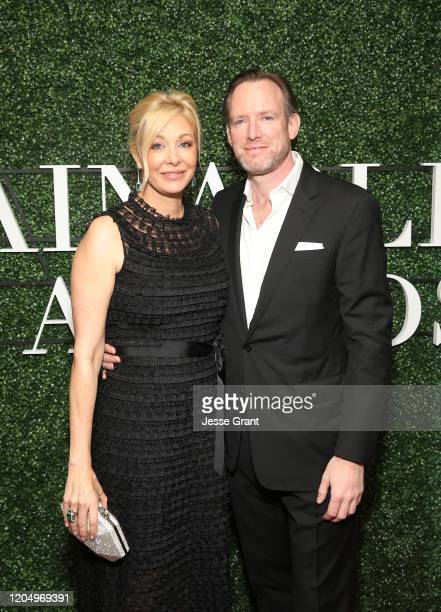Nadja Swarovski and Rupert Adams attend Maison de Mode's Sustainable Style Awards presented by Aveda at 1 Hotel West Hollywood on February 08 2020 in...