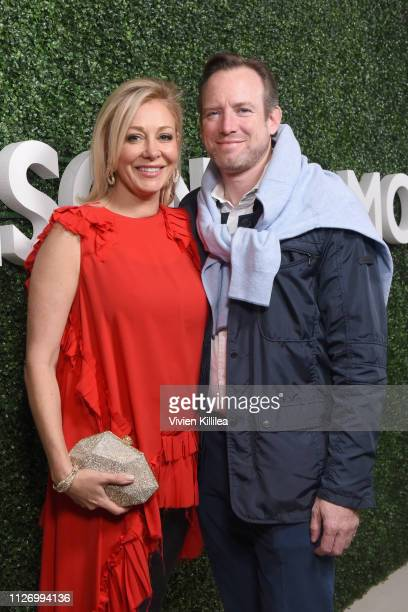 Nadja Swarovski and Rupert Adams attend MAISON-DE-MODE.COM Sustainable Style Gala at Sunset Tower on February 23, 2019 in Los Angeles, California.