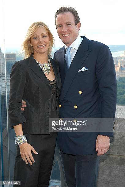Nadja Swarovski and Rupert Adams attend SWAROVSKI Private Dinner to Honor the 2006 CFDA Nominees at Top of the Rock on June 4, 2006 in New York City.