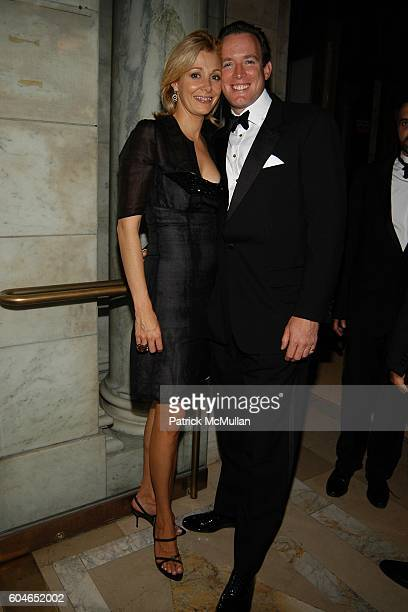 Nadja Swarovski and Rupert Adams attend The 2006 CFDA Fashion Awards at The New York Public Library on June 5, 2006 in New York City.