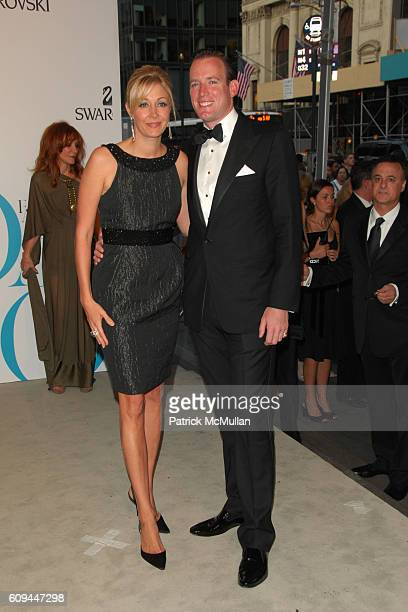 Nadja Swarovski and Rupert Adams attend The 2007 CFDA Fashion Awards - Red Carpet Arrivals at The New York Public Library on June 4, 2007 in New York...