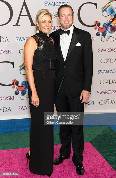Nadja Swarovski and Rupert Adams attend the 2014 CFDA fashion awards at Alice Tully Hall, Lincoln Center on June 2, 2014 in New York City.