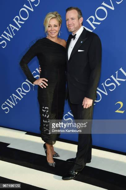 Nadja Swarovski and Rupert Adams attend the 2018 CFDA Fashion Awards at Brooklyn Museum on June 4, 2018 in New York City.
