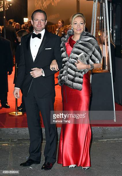 Nadja Swarovski and Rupert Adams attend the British Fashion Awards 2015 at London Coliseum on November 23 2015 in London England