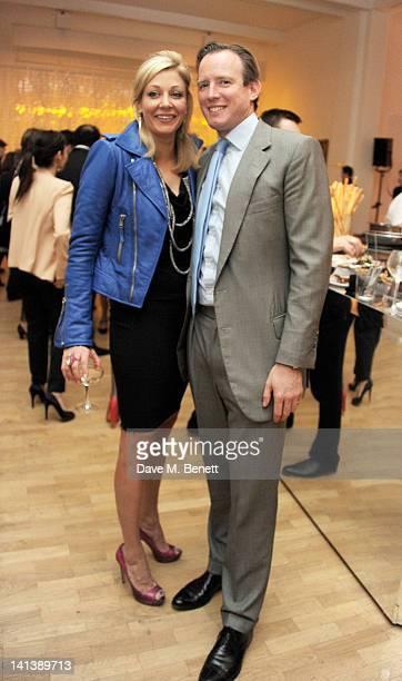 Nadja Swarovski and Rupert Adams attend the Swarovski Whitechapel Gallery Art Plus Opera fundraising gala in support of the gallery's education fund...
