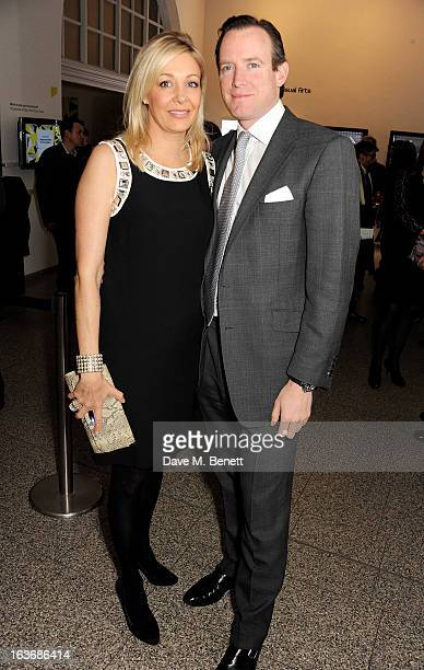 Nadja Swarovski and Rupert Adams attend the Swarovski Whitechapel Gallery Art Plus Fashion fundraising gala in support of the gallery's education...