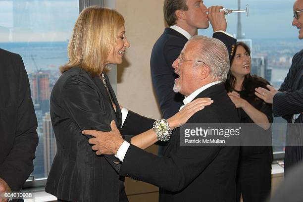 0b934925a Nadja Swarovski and Stan Herman attend SWAROVSKI Private Dinner to Honor  the 2006 CFDA Nominees at
