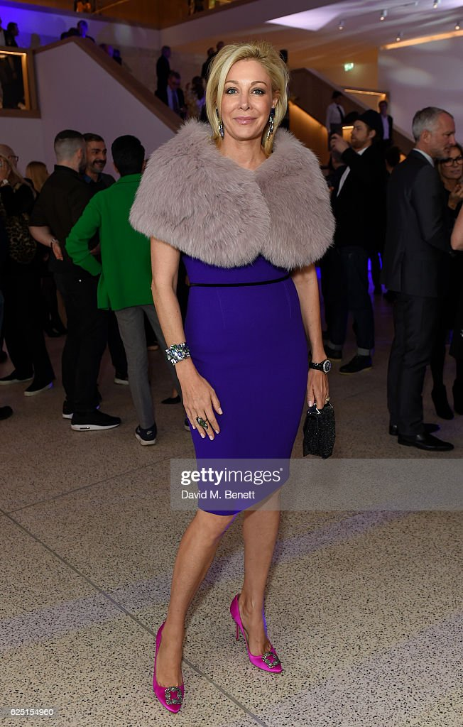 Nadja Swarovski attend the launch of the new Design Museum co-hosted by Alexandra Shulman, Sir Terence Conran & Deyan Sudjic on November 22, 2016 in London, United Kingdom.