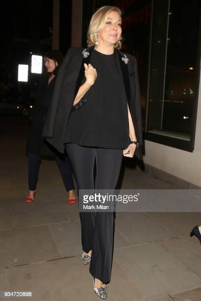 Nadja Swarovski attending the Atelier Swarovski event on March 19 2018 in London England