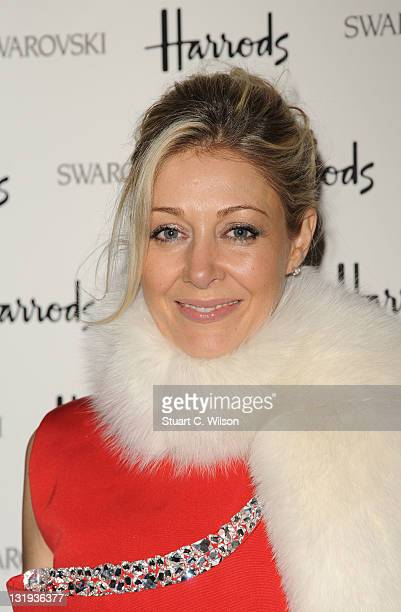 Nadja Swarovski attends dinner following the launch of the crystal brand's popup store and new window display at Harrods at One Hyde Park on November...