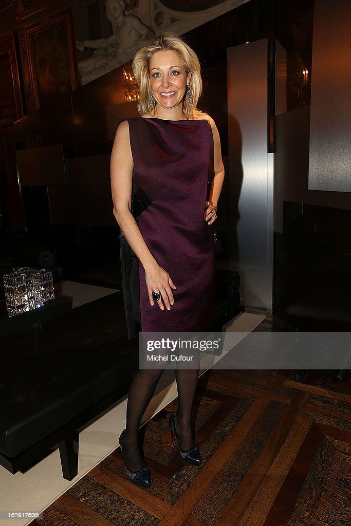 Nadja Swarovski attends Swarovski 'Paris Haute Couture' Exhibition as part of Paris Fashion Week on February 28, 2013 in Paris, France.