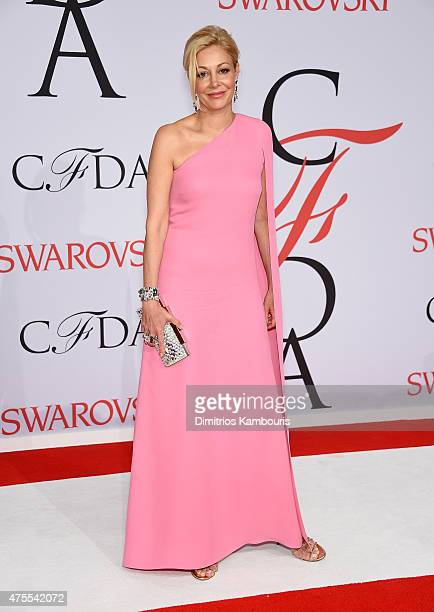 Nadja Swarovski attends the 2015 CFDA Fashion Awards at Alice Tully Hall at Lincoln Center on June 1 2015 in New York City