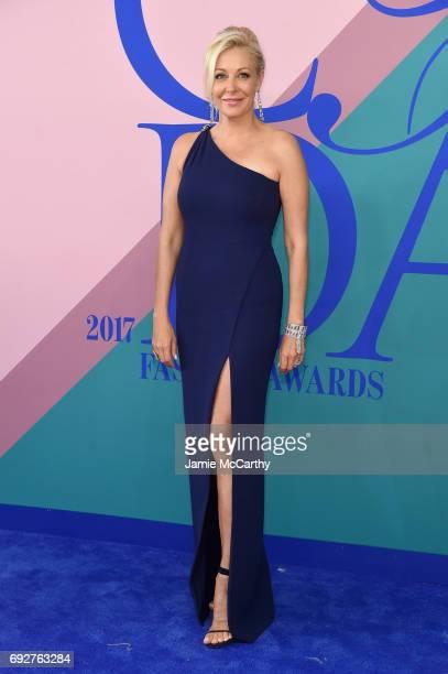 Nadja Swarovski attends the 2017 CFDA Fashion Awards at Hammerstein Ballroom on June 5 2017 in New York City
