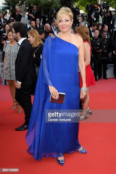 Nadja Swarovski attends the screening of Everybody Knows and the opening gala during the 71st annual Cannes Film Festival at Palais des Festivals on...