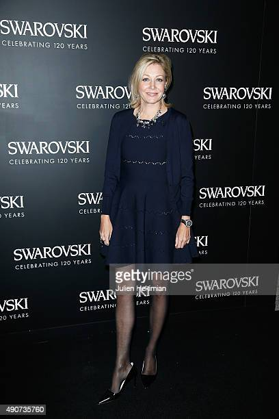 Nadja Swarovski attends the Swarovski 120 X Rizzoli Exhibition and Cocktail as part of the Paris Fashion Week Womenswear Spring/Summer 2016 on...