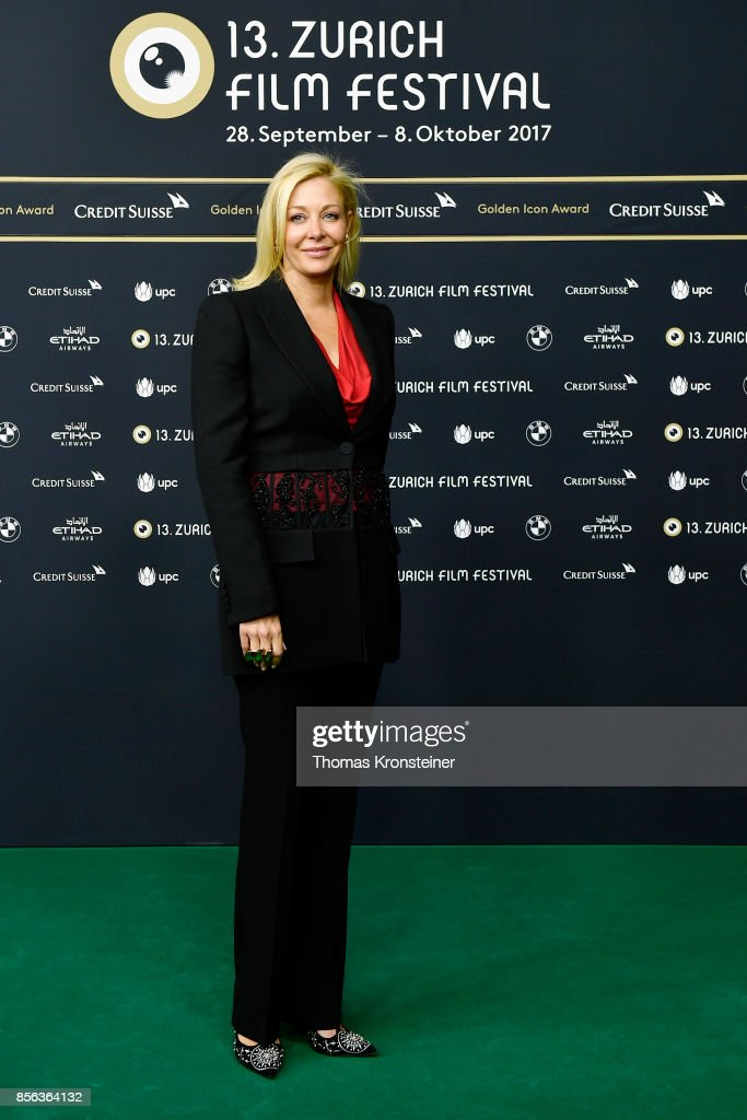 Nadja Swarovski attends the 'The Wife' premiere at the 13th Zurich Film Festival on October 1, 2017 in Zurich, Switzerland. The Zurich Film Festival 2017 will take place from September 28 until October 8.