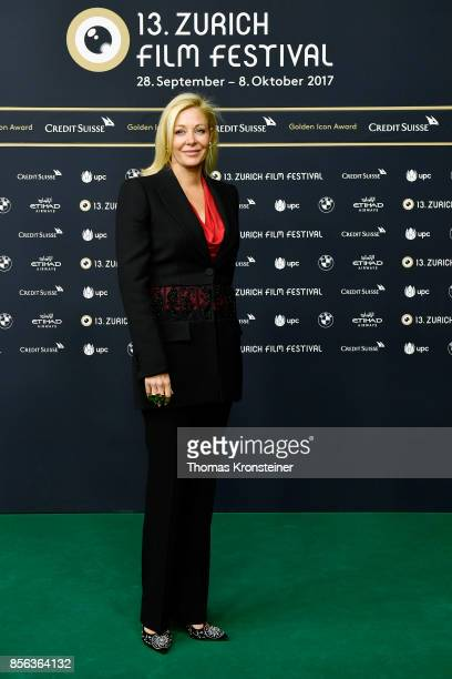 Nadja Swarovski attends the 'The Wife' premiere at the 13th Zurich Film Festival on October 1 2017 in Zurich Switzerland The Zurich Film Festival...