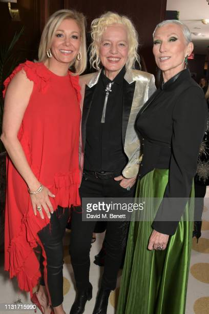 Nadja Swarovski Ellen von Unwerth and Maye Musk attends the MAISONDEMODECOM Sustainable Style Gala at The Sunset Tower on February 23 2019 in Los...