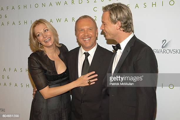 17c1faa3c Nadja Swarovski Michael Kors and Markus LangesSwarovski attend The 2006  CFDA Fashion Awards at The New