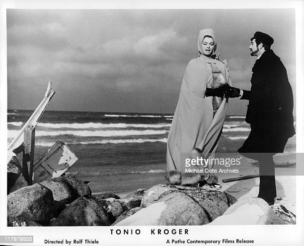 Nadja Tiller and JeanClaude Brialy in Kroger's dream in a scene from the film 'Tonio Kroger' 1968