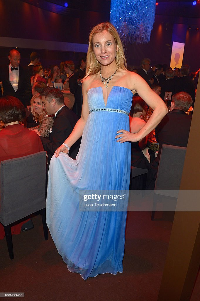 Nadja Uhl attends the Bambi Awards 2013 After Show Party at Stage Theater on November 14, 2013 in Berlin, Germany.