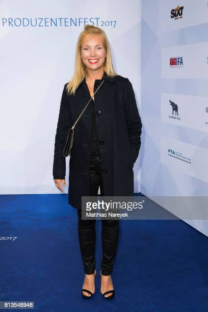 Nadja Uhl attends the Summer Party of the German Producers Alliance on July 12 2017 in Berlin Germany