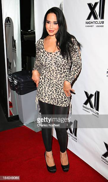 Nadya Suleman attends Octomom Nadya Suleman Celebrity Roast at XL Nightclub on October 12 2012 in New York City