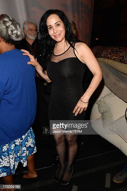 Nadya Suleman attends Spike TV's Guys Choice 2013 at Sony Pictures Studios on June 8 2013 in Culver City California