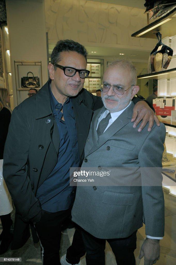 7a43e4dd Naeem Khan and David Hoey attend 2017 Bergdorf Goodman holiday ...