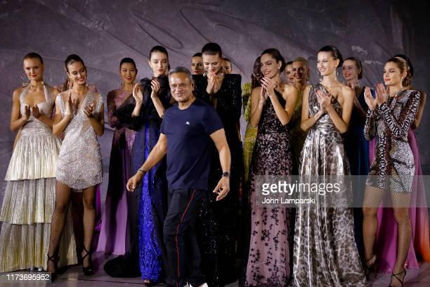 Naeem Khan walks the runway for Naeem Khan during New York Fashion Week The Shows on September 10 2019 in New York City