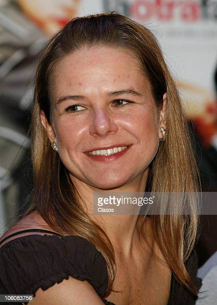 Naelea Norvind of the movie La Otra Familia, during a press conference as part of the 8th Morelia International Film Festival on October 23, 2010 in...