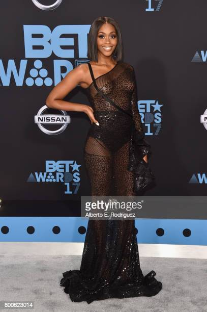 Nafessa Williams at the 2017 BET Awards at Microsoft Square on June 25 2017 in Los Angeles California