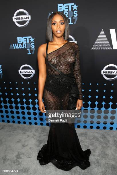 Nafessa Williams at the 2017 BET Awards at Staples Center on June 25 2017 in Los Angeles California