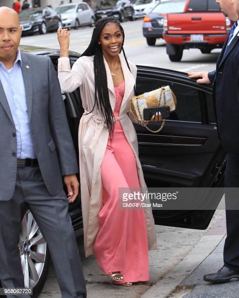 Nafessa Williams is seen on May 12 2018 in Los Angeles CA