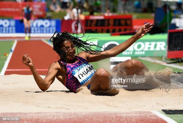 Nafissatou Thiam of Belgium pictured during long jump at ' athletic Hypomeeting ' in Gotzis on may 27 and 28 may 2017 in Gotzis Austria