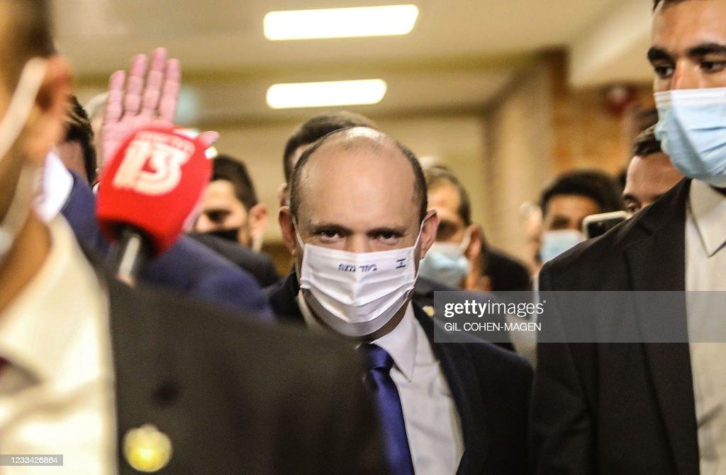 ISRAEL-POLITICS-VOTE : News Photo
