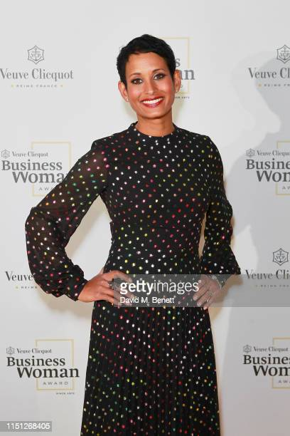 Naga Munchetty at The Veuve Clicquot 2019 Business Woman Awards at The Design Museum on May 23 2019 in London England