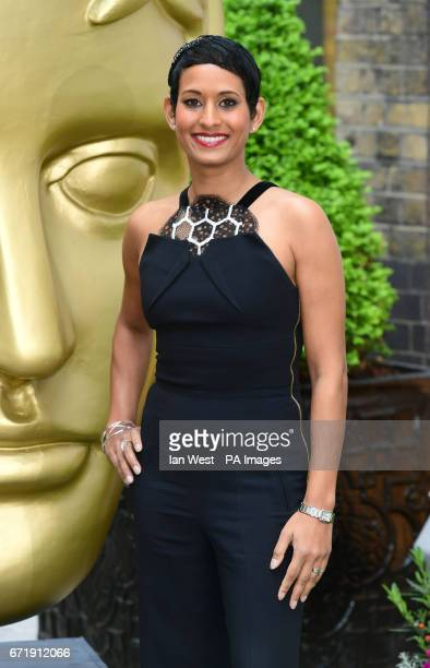 Naga Munchetty attending the BAFTA Craft Awards at the Brewery in London