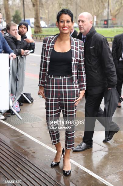 Naga Munchetty attends the 2019 'TRIC Awards' held at The Grosvenor House Hotel on March 12 2019 in London England