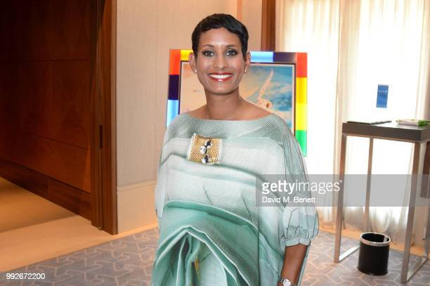 Naga Munchetty attends the Attitude Pride Awards 2018 at The Berkeley Hotel on July 6 2018 in London England