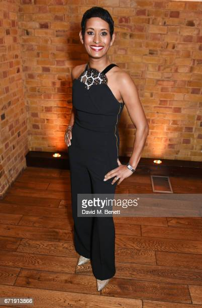 Naga Munchetty attends the British Academy Television Craft Awards at The Brewery on April 23 2017 in London United Kingdom