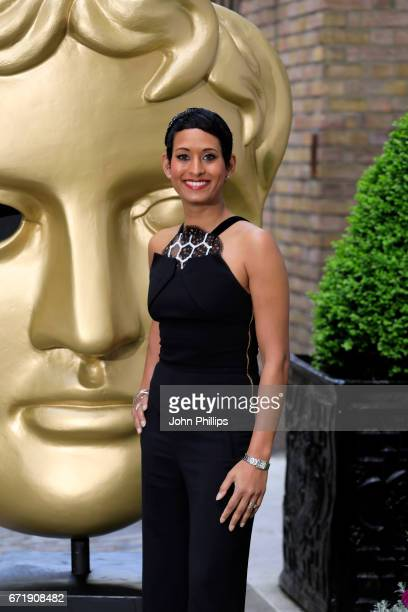 Naga Munchetty attends the British Academy Television Craft Awards on April 23 2017 in London United Kingdom