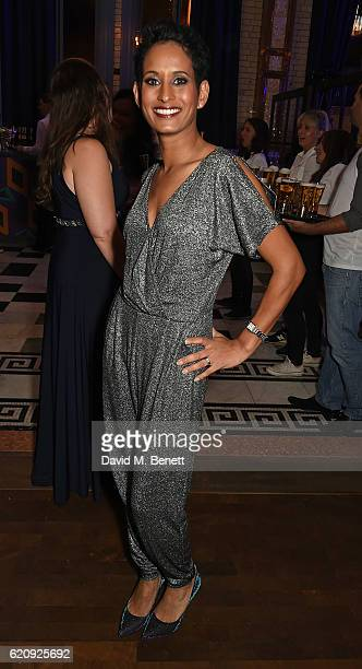 Naga Munchetty attends the STYLE x PRINCIPAL Party at The Principal Manchester on November 3 2016 in Manchester England