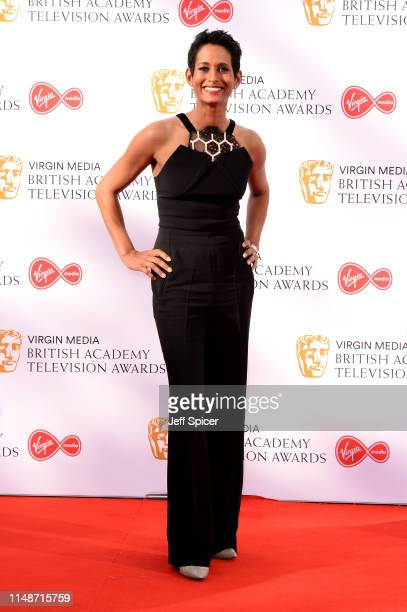 Naga Munchetty attends the Virgin Media British Academy Television Awards 2019 at The Royal Festival Hall on May 12 2019 in London England