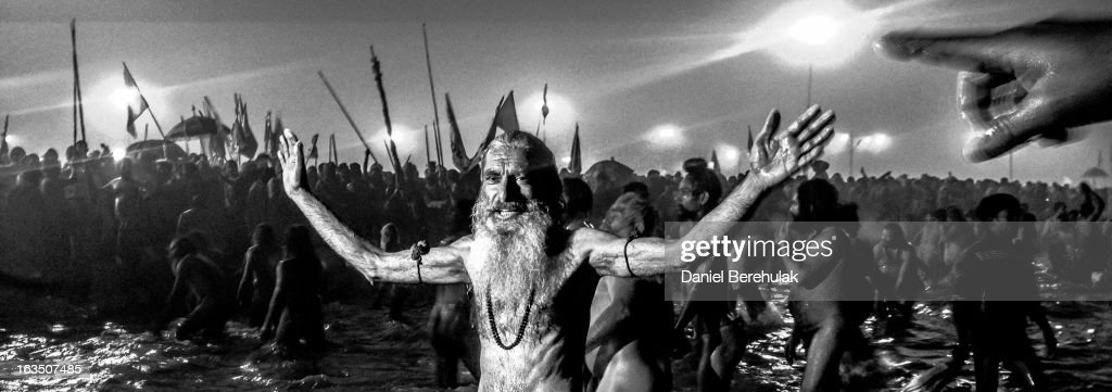 iPhone Panoramics Of The Kumbh Mela : News Photo