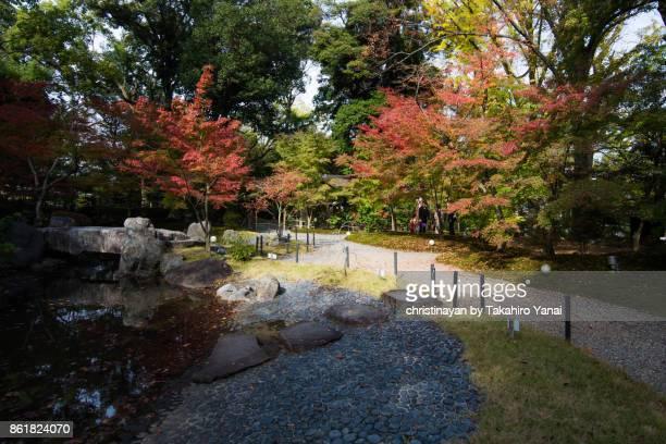 Nagaoka Tenmangu Shrine, Kinkeien Garden