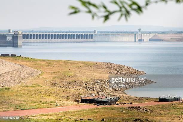 Nagarjuna-Sagar-Stausee und dam Telangana, Indien