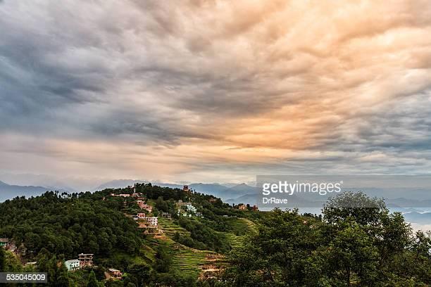 Nagarkot village, Himalaya, Nepal